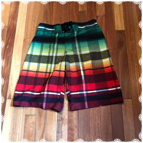 5d867123f97b0 Hang Ten Shorts | Plaid Board | Poshmark